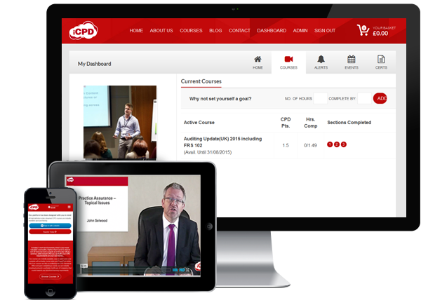 Instant CPD is available across many devices and platforms
